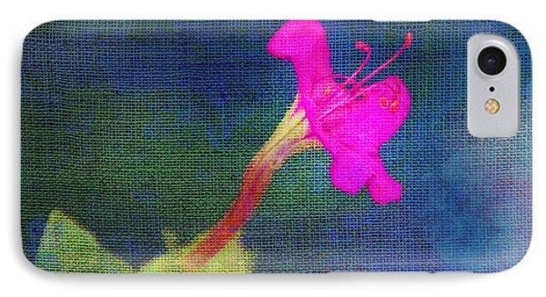 Fuchsia Flower Phone Case by Judi Bagwell