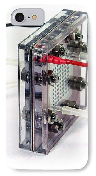 Fuel Cell Phone Case by Friedrich Saurer
