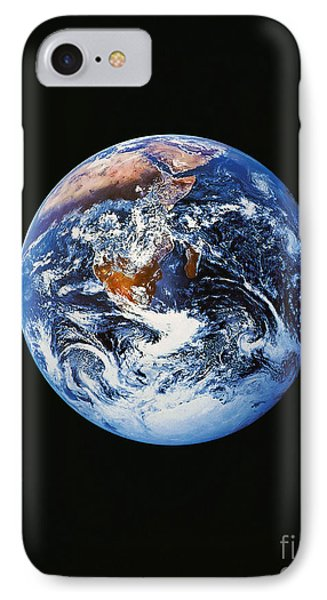 Full Earth From Space Phone Case by Stocktrek Images