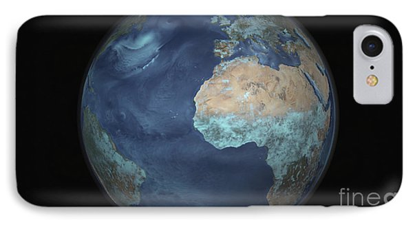 Full Earth Showing Evaporation Phone Case by Stocktrek Images
