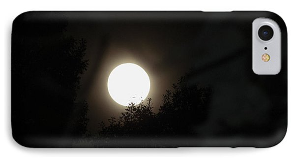 IPhone Case featuring the photograph Full Moon Beauty by Ester  Rogers