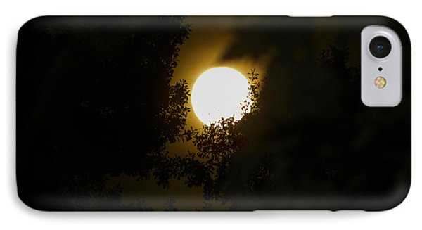 IPhone Case featuring the photograph Full Moon by Ester  Rogers