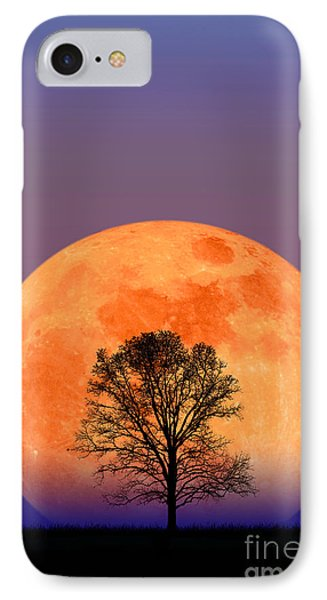 Full Moon Phone Case by Larry Landolfi and Photo Researchers