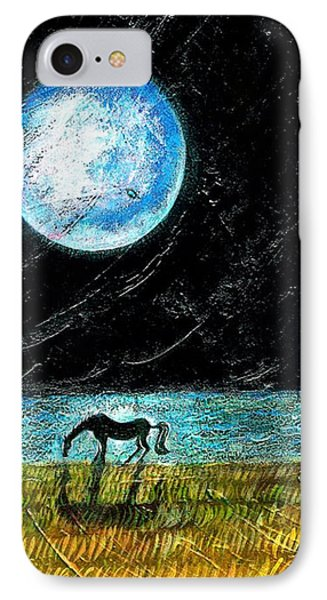 Full Moon On The Seashore Phone Case by Ion vincent DAnu