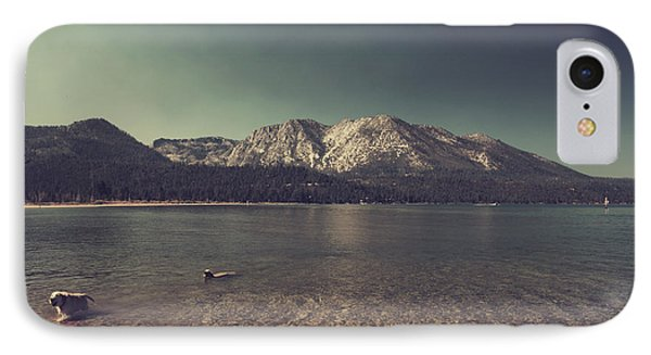 Fun At The Lake Phone Case by Laurie Search