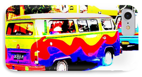 Funky Bali Bus  Phone Case by Funkpix Photo Hunter