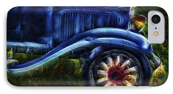 Funky Old Car Phone Case by Susan Candelario