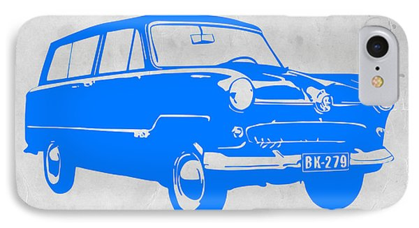 Funny Car IPhone Case by Naxart Studio