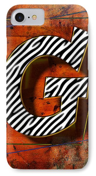 G IPhone Case by Mauro Celotti