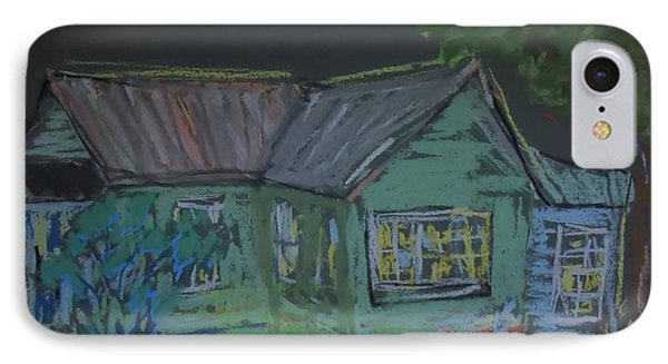 IPhone Case featuring the painting Gabby's House by Francine Frank