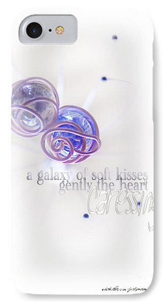 Galaxy Of Love IPhone Case by Vicki Ferrari Photography