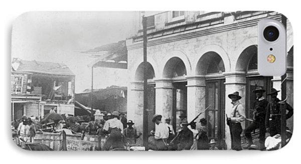Galveston Flood - September - 1900 Phone Case by International  Images