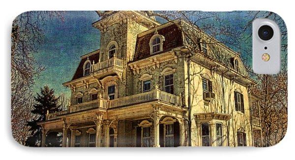 Gambrill Mansion Phone Case by Lianne Schneider