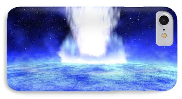 Gamma Ray Burst Eruption Phone Case by Nasa