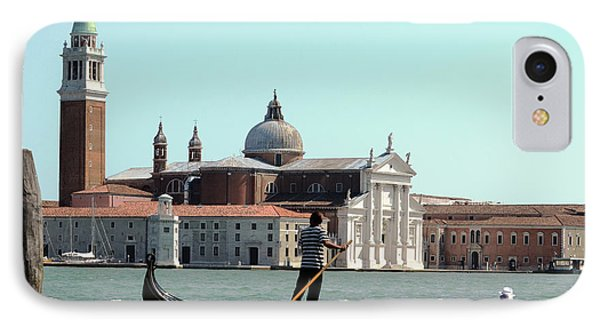 Gandola Rides In Venice IPhone Case