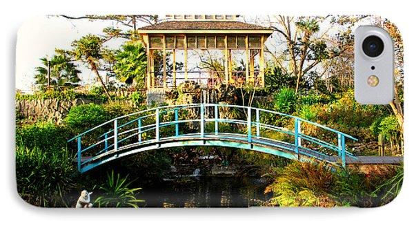 Garden Bridge Phone Case by Perry Webster