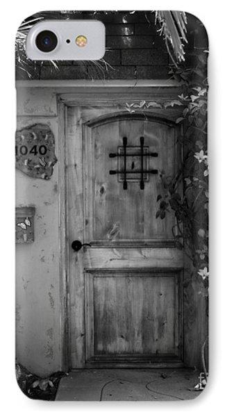 Garden Doorway 2 Phone Case by Perry Webster