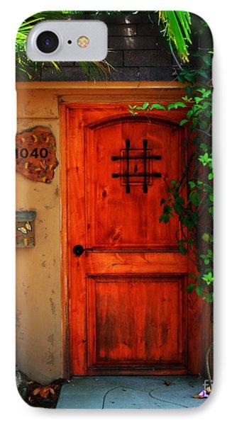 Garden Doorway Phone Case by Perry Webster