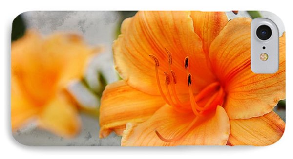 IPhone Case featuring the photograph Garden Lily by Davandra Cribbie