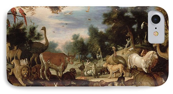 Garden Of Eden Phone Case by Jacob Bouttats