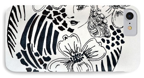 Garden Of Eve Phone Case by Maria Urso