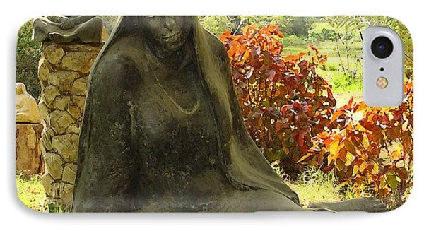 Garden Of Statues Egypt Phone Case by Mary Machare