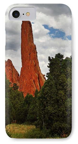 Garden Of The Gods - A Breathtaking Natural Wonder Phone Case by Christine Till