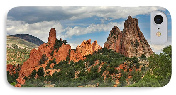Garden Of The Gods - Colorado Springs Co Phone Case by Christine Till