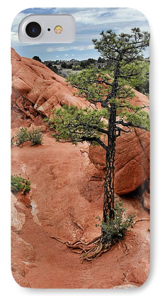 Garden Of The Gods  - The Name Says It All Phone Case by Christine Till