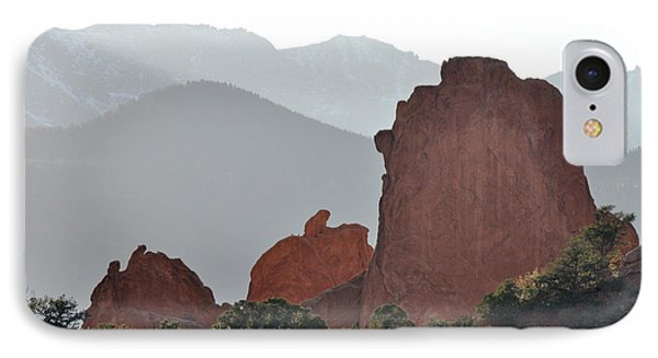 IPhone Case featuring the photograph Garden Of The Gods by Cheryl McClure