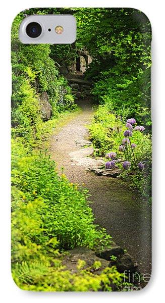 Garden Path IPhone Case by Elena Elisseeva