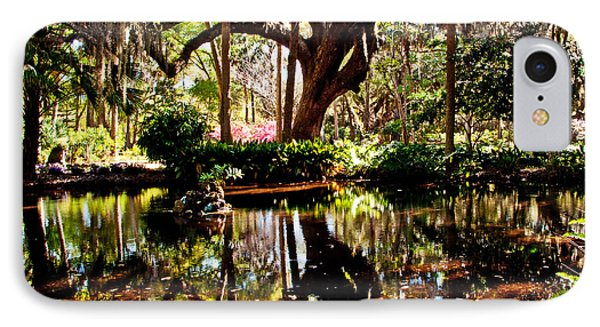 Garden Reflections Phone Case by Bob and Nancy Kendrick