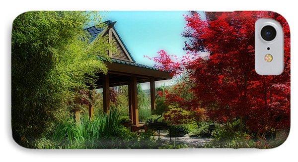 Garden Retreat Phone Case by Lynn Bauer