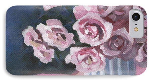 Garden Roses Phone Case by Natasha Denger