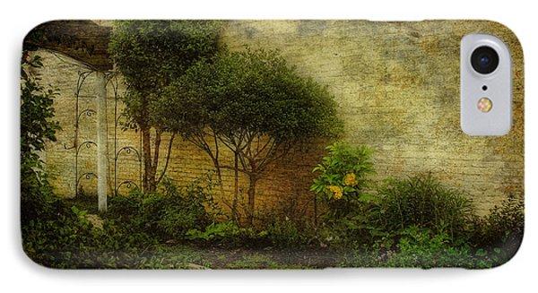 IPhone Case featuring the photograph Garden Walk by Joan Bertucci