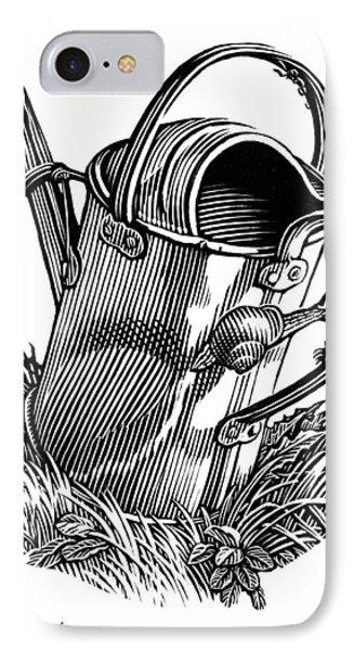 Gardening, Conceptual Artwork Phone Case by Bill Sanderson