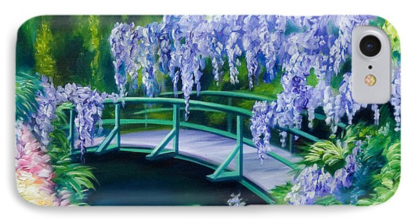 Gardens Of Givernia II Phone Case by James Christopher Hill