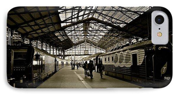 IPhone Case featuring the photograph Gare De Saint Lazare by Eric Tressler
