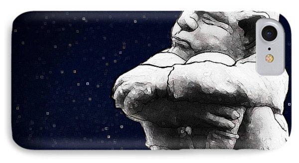 Gargoyle Dreams Phone Case by Jerrett Dornbusch