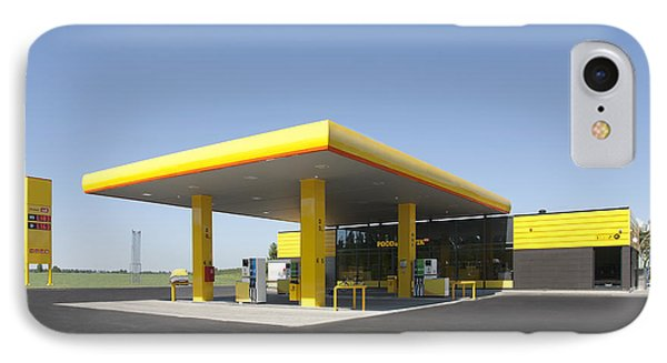 Gas Station Phone Case by Jaak Nilson