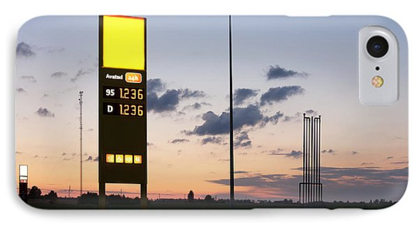 Gas Station Sign Phone Case by Jaak Nilson
