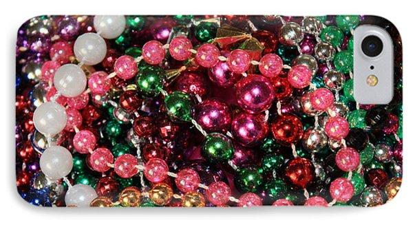 Gasparilla Beads 2 IPhone Case by Carol Groenen