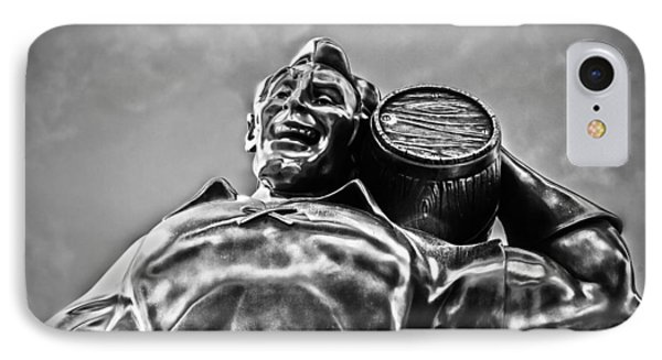 Gaston The Great - Bw IPhone Case