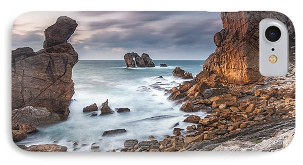 Gate In The Ocean Phone Case by Evgeni Dinev
