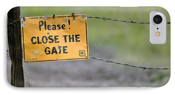 Gate Keeper Phone Case by Juls Adams