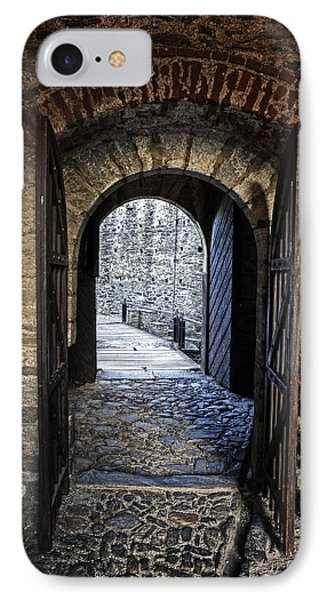 Gate Of A Castle IPhone Case by Joana Kruse