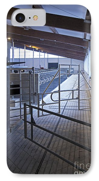 Gated Railing In A Cowshed Phone Case by Jaak Nilson
