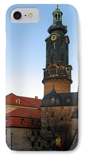 Gatehouse Weimar City Palace Phone Case by Christine Till