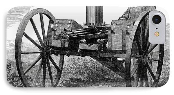 Gatling Gun, 1872 Phone Case by Granger