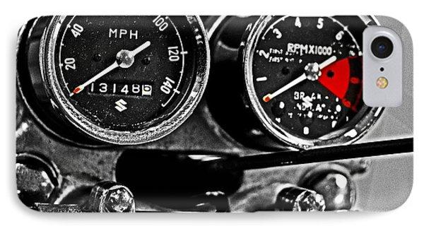 Gauging Speed Phone Case by Tom Gari Gallery-Three-Photography